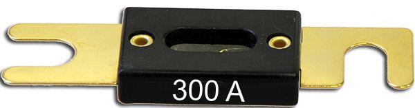 vergoldet 300 Ampere ANL-Flachsicherung