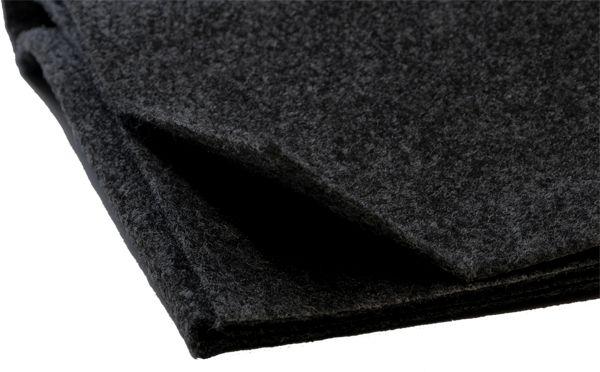 Lautsprecherteppich  Bespannstoff 1×1,5m, schwarz