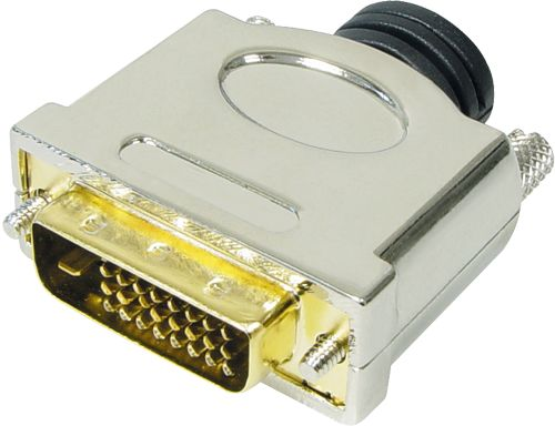 High Quality DVI-Stecker 24+1 / Lötversion
