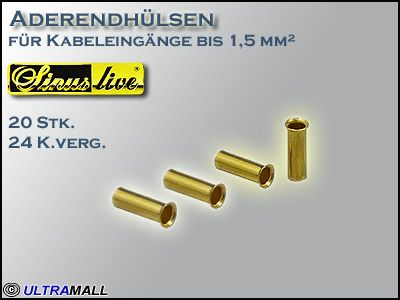 "HQ Aderendhülsen ""Set"", Querschnitt  1,5mm²"