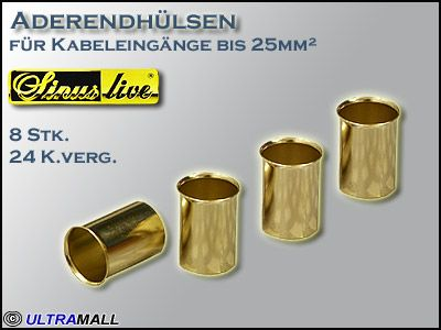 "HQ Aderendhülsen ""Set"", Querschnitt 25,0mm²"