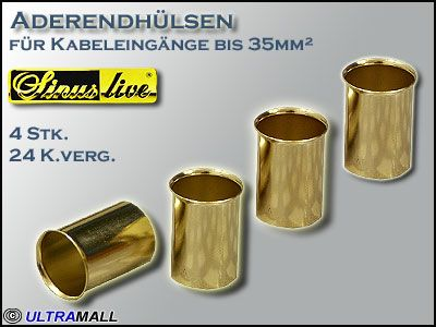 "HQ Aderendhülsen ""Set"", Querschnitt 35,0mm²"