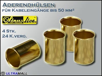 "HQ Aderendhülsen ""Set"", Querschnitt 50,0mm²"