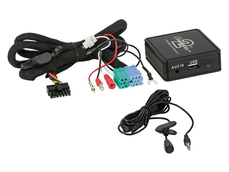 Bluetooth Interface passend für Skoda Fabia Octavia Roomster Superb ab Bj. 2005 adaptiert von Quadlock