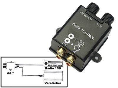 High Quality Bass Controll Regler