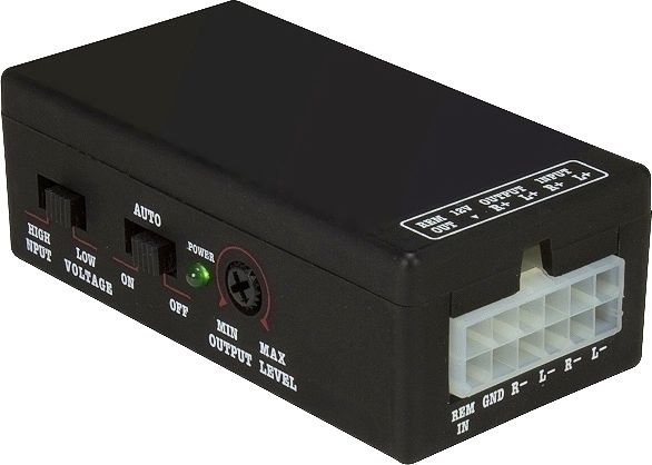 High / Low Level Converter Adapter 0772.06730 2-Kanal mit Remote