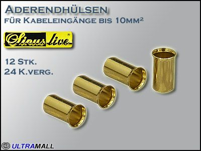 "HQ Aderendhülsen ""Set"", Querschnitt 10,0mm²"