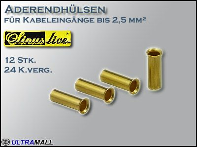 "HQ Aderendhülsen ""Set"", Querschnitt  2,5mm²"