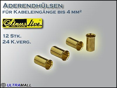 "HQ Aderendhülsen ""Set"", Querschnitt  4,0mm²"