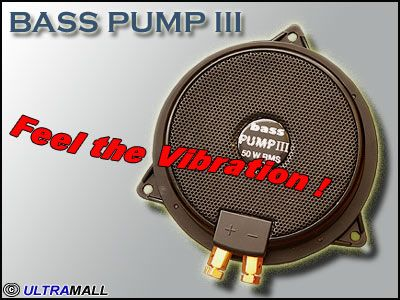 Bass Pump 3 -- Feel the Vibration --  8 OHM