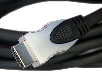 High Speed HDMI Audio / Video Kabel mit Ferritfilter, Länge: 1,0m