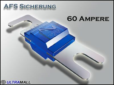 AFS Sicherung Audison Connection SFA-060, 60 Ampere
