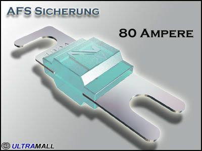 AFS Sicherung Audison Connection SFA-080, 80 Ampere