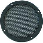 2 Stück - Lautsprecher Dekor Gitter 200mm schwarz