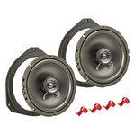 MDF Lautsprecher Einbau Set passend für Alfa Romeo MiTo Giulietta 940