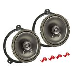 Lautsprecher Einbau Set passend für BMW 3er E46 165mm 2-Wege Koaxial