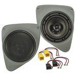 Doorboard Lautsprecher Einbau Set passend für Fiat Ducato 165mm 2-Wege