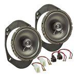Lautsprecher Einbau Set passend für Ford Fiesta Ka Focus Mondeo 165mm