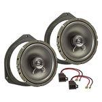 MDF Lautsprecher Einbau Set passend für Opel Citroen Fiat Peugeot