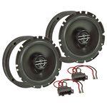 MDF Lautsprecher Einbau Set passend für VW Golf Beetle Bora Passat