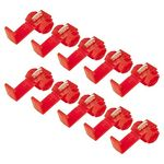 10Stück Klemmverbinder rot für Kabel 0.5- 1.5qmm Klemmverteiler