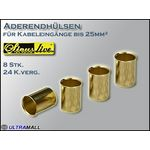"HQ Aderendhülsen ""Set"" 0772.00870, Querschnitt 25,0mm²"
