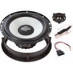 Audio System M 165GOLF 6+ 7EVO  Lautsprecher Einbau Set passend für