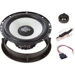 Audio System  Lautsprecher Einbau Set passend für Skoda Citygo 165mm