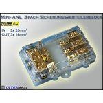 SinusLive  Mini-ANL 3fach Sicherungsverteilerblock