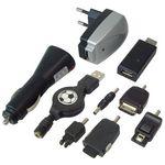 USB/ KFZ/ Netz-Handy Ladekabel  -- praktisch auf Reisen 0772.04082