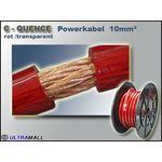 100 Meter - Powerkabel hochflexiebel 0772.00880, 10mm², rot