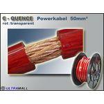 15 Meter - Powerkabel hochflexiebel 0772.00882, 50mm², rot