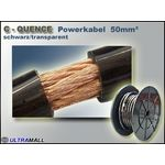 15 Meter - Powerkabel hochflexiebel 0772.00883, 50mm², schwarz